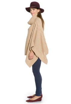 1d81398b23 50% OFF Mayarya Poncho Maternity and Nursing Sweater S$ 86.00 NOW S$ 43.00  Sizes One size