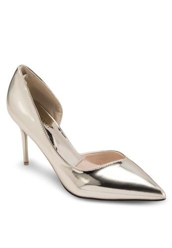 Occaesprit outlet 高雄sion 側鏤空尖頭高跟鞋, 女鞋, 鞋