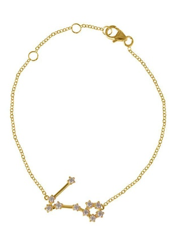RAM Jewelry gold Constellation Bracelet - Yellow Gold - Pisces 87C6CAC03E42B0GS_1