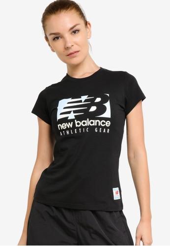 New Balance black NB Essentials Field Day Tee FEA2FAAFF6AAC8GS_1