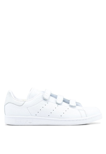 adidas white adidas originals stan smith cf AD372SH0SULXMY_1