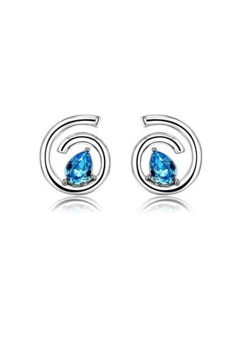 ADORA blue Blue Swarovski Crystal Earrings DAF58ACCA1DAE8GS_1
