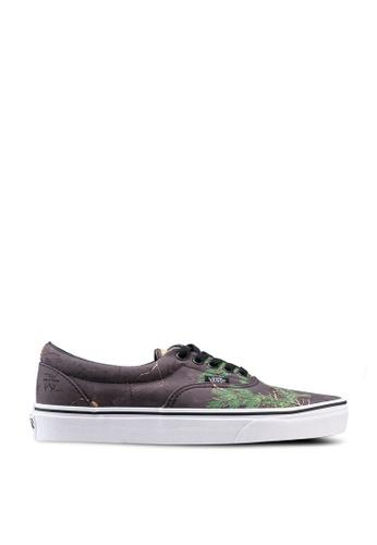 VANS black and multi Era Realtree Xtra Sneakers CAB1DSH797576CGS_1