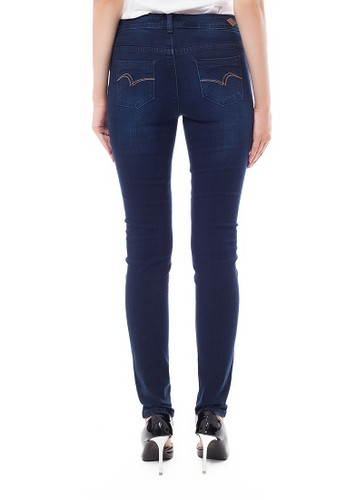 Jual Lee Cooper Lee Cooper Women s BETH Petit Straight Jeans enzyme wash  Original  54593975a3