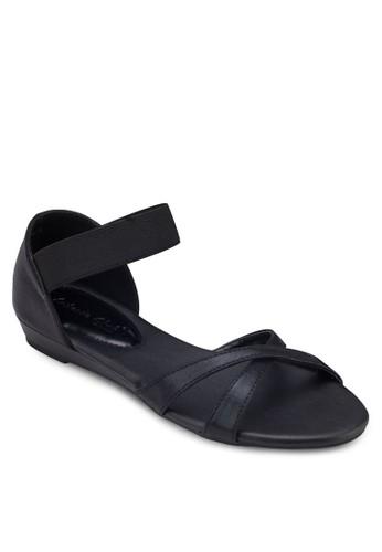 交叉繞esprit outlet 家樂福踝包跟涼鞋, 女鞋, 鞋