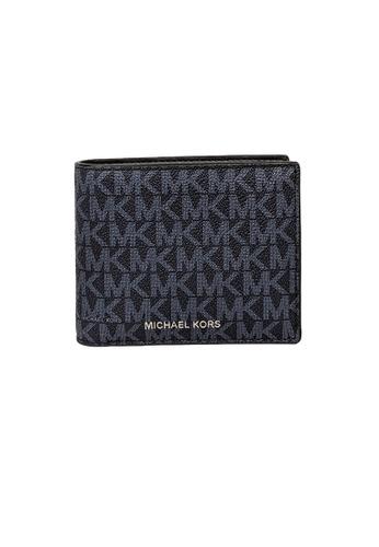 MICHAEL KORS blue Michael Kors Cooper Billfold Wallet With Passcase PL Blue 36U9LCRF6B 1C400AC567FD5FGS_1