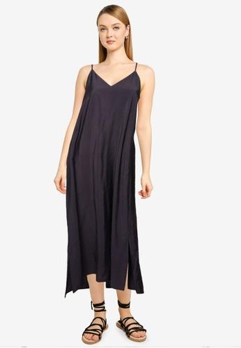 LOWRYS FARM black Woven Maxi Dress 26922AA291A6C0GS_1