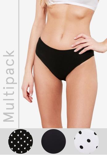 Trendyol multi 3-Pack Printed Panties AC778US1D4B558GS_1
