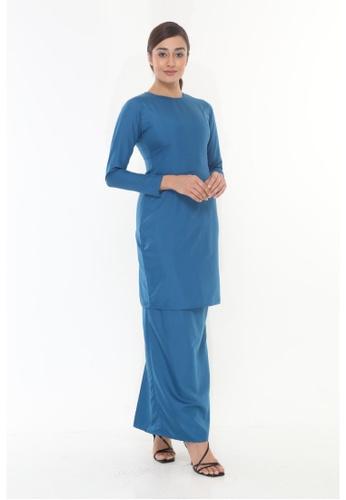 Amar Amran blue Baju Kurung Moden Qasandra AC3AFAAE102877GS_1