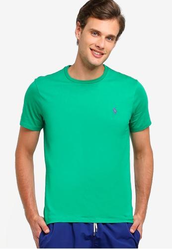 Polo Ralph Lauren 多色 Short 袖 圓領修身T-襯衫 85351AA424BDDDGS_1