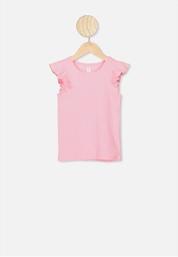 Cotton On Kids pink Kaia Tank F0FD0KA1B2D977GS_1