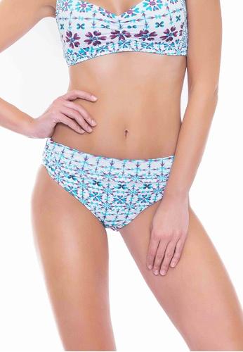 Sunseeker white Shibori Star Full Classic Pants C801BUSDBFDF25GS_1