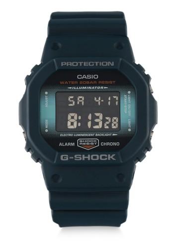 G-Shock blue Casio G-SHOCK Jam Tangan Pria - Blue - Resin -