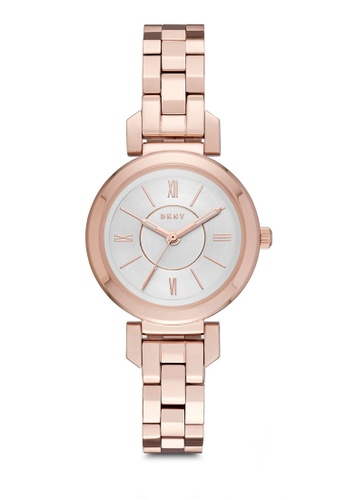 22e82a0ec0272 DKNY gold Ellington Rose Gold Watch NY2592 DK097AC0RTHSMY 1