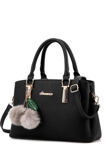 TCWK black TCWK Korea Style Black Ladies Handbag TC258AC0RFOPMY_1