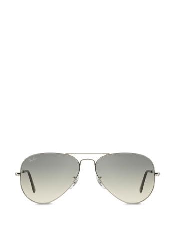 Ray-Ban Aviator Large Metal RB3025 Sunglasses RA370GL46SABSG_1