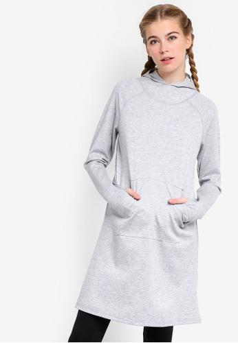 AVIVA grey Performance Long Sleeve Top 5875CAAF22CD30GS_1