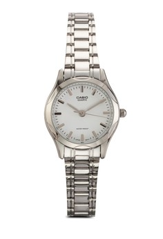 Casio 不銹鋼女性手錶