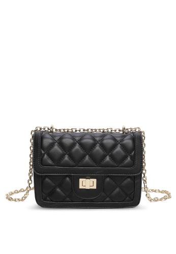 Milliot & Co. black Trista Sling Bag EEB23ACC9E9D5EGS_1