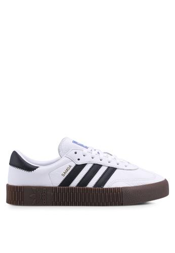 adidas white adidas originals sambarose w 9C8B2SH4089FA3GS_1