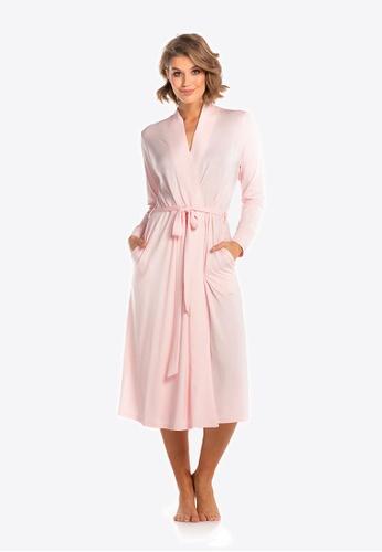 Deshabille 粉紅色 莊園長袍粉紅色 8DA04AA593F35FGS_1
