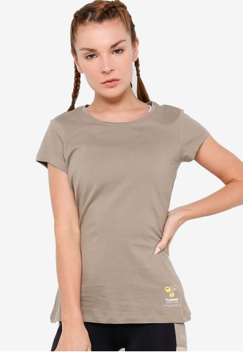 Hummel grey Scarlet T-Shirt D3A69AA15C9877GS_1