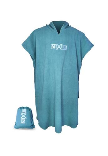 NIXIE turquoise Summer Poncho Towel E28EFUS3D4A544GS_1