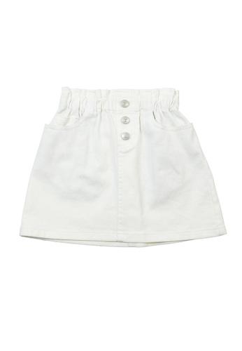 Vauva white Vauva Girls Nut High Rise Skirt - White 2D7F2KAB3753ECGS_1