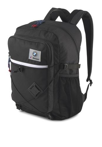 PUMA black BMW Motorsport Backpack 1BB78AC8DA6BD8GS_1