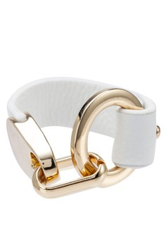 Gold Detail Leather Wrap