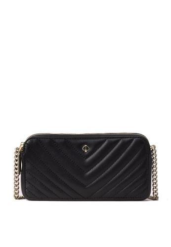 kate spade new york black Amelia Double-zip Mini Crossbody Bag 64387ACC0871B0GS_1