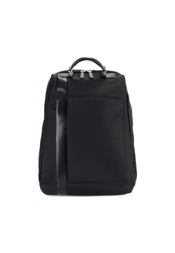 Alef black Alef Raffles Zip Around Backpack in Black C3C9BAC0BCB4B9GS_1