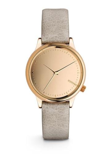 KOMONO grey Estelle Mirror Estelle Mirror Rose Gold Grey Watch KO163AC0T0TIMY_1