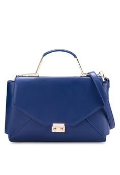 Top Handle Hardware Lady Bag
