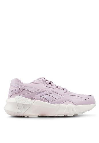 Reebok 粉紅色 Classics Retro Aztrek Shoes 5691ASH19A44ABGS_1