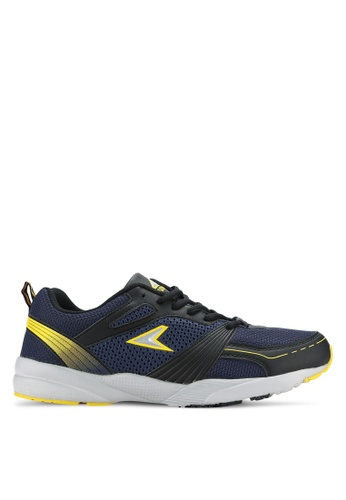 Power blue and navy Athletic Shoes PO160SH0RE0CMY_1