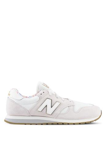 New Balance white 520 Floral Pack Lifestyle Sneakers NE323SH0SXNRMY_1