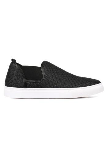 New York Sneakers black New York Sneakers Oz D227 Men's Slip On Shoes 6C79FSH03083CEGS_1
