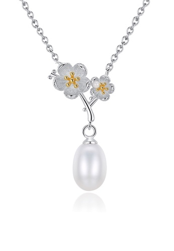 A.Excellence white Premium White Pearl Elegant Necklace FCEDEACF2DB79EGS_1