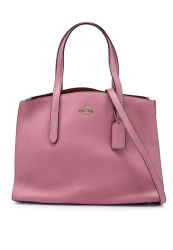 Coach pink Charlie Carryall Bag (cv) 24980AC9408603GS_1