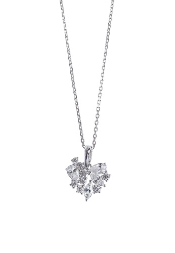 The LoveMark silver Asset Necklace TH516AC84OWPPH_1