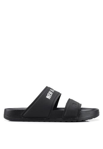 New Balance black Lifestyle Sandals 7DC3DSH3F286E2GS_1