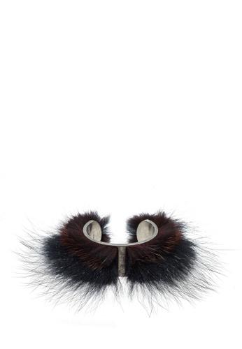 Ferragamo multi Bijoux Fur Bracelet (zt) F5DA4AC30B2D81GS_1