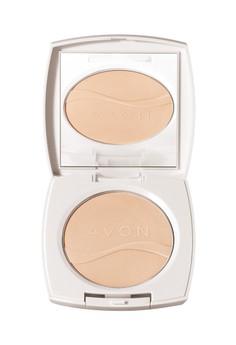 Avon Color Ideal White Pressed Powder in Almond