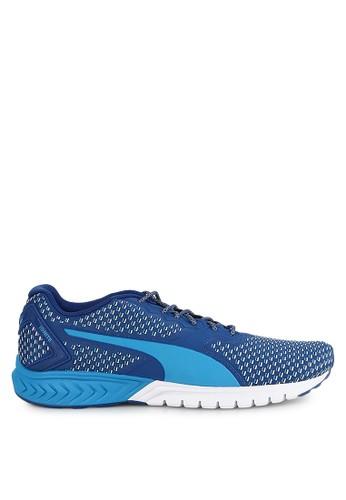 PUMA blue IGNITE Dual Shift Shoes PU245SH0UPOJID_1