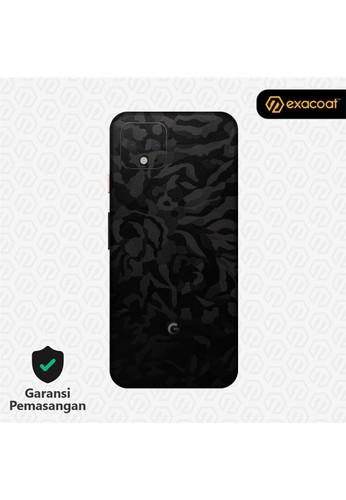 Exacoat Google Pixel 4 Skins Camo Series - Black Camo 870E4ESB8D2B95GS_1