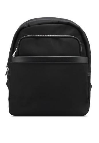 ZALORA black Waterproof Backpack 21FEAZZ0C12FC9GS_1