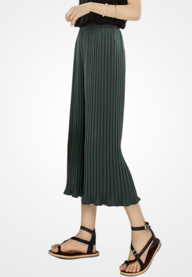 Dazzle Away Cropped Culottes
