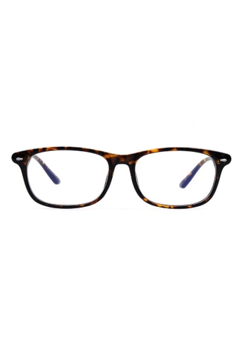 Kyfer's Eyewear & Essentials brown Classy Daily Reading Glasses KY376AC72RWTSG_1