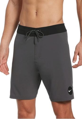 "Nike grey Nike Swim Men's Essential Vital 7"" Boardshort 850E7US6D2DF7EGS_1"
